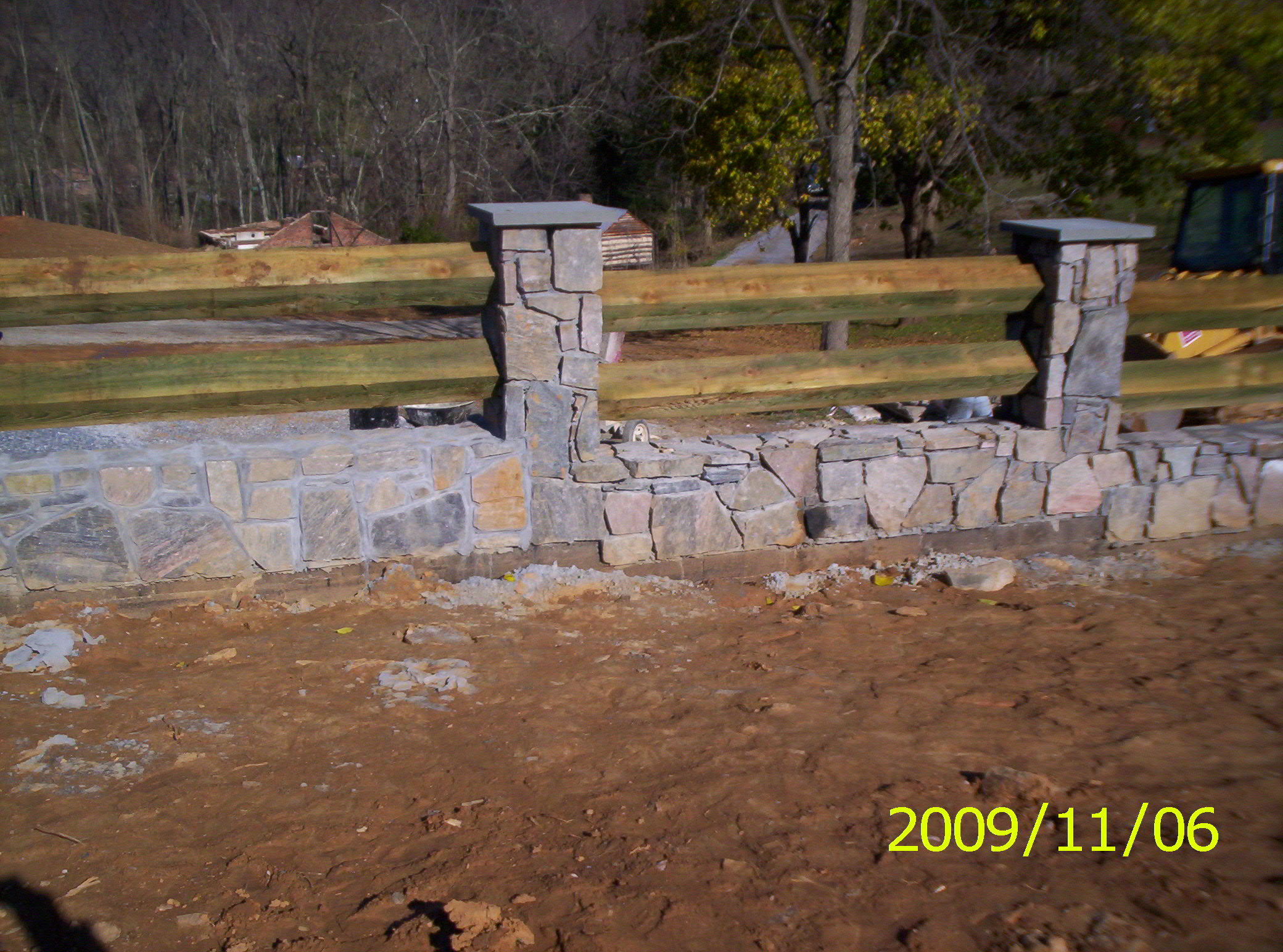 Faux Stone Fence Panels, SimTek Fence Panels