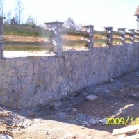 Stone Retaining Wall Example